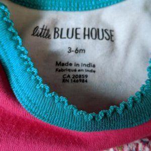 Little Blue House One Pieces - Little Blue House Moose Canada Onesie